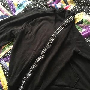 Basic black and white American Eagle hoodie